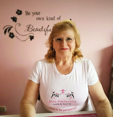 Carolyn Brow of Pink Perfection Nails & Beauty