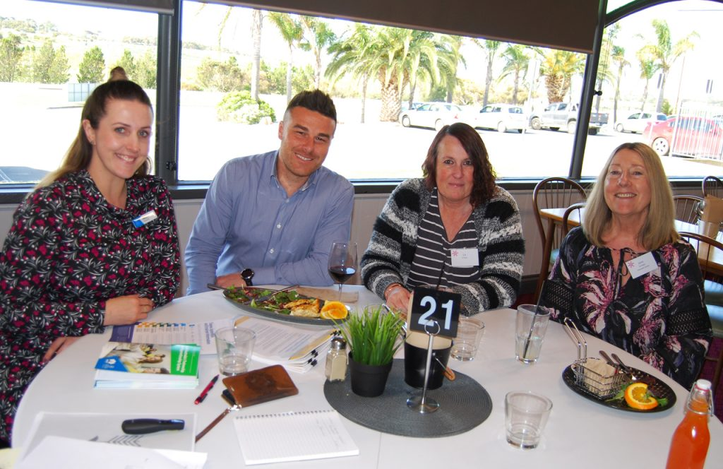 Skilling South Australia speaking with Murray Bridge businesswomen