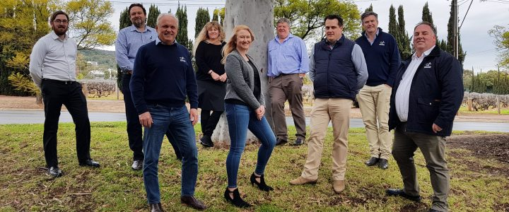The small business financial counselling team from Rural Business Support.